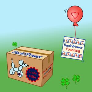 """Back2Power-Paket """"mit 10er-Karte"""""""