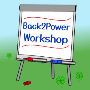 """Back2Power Workshop """"Erste Hilfe gegen Stress"""""""
